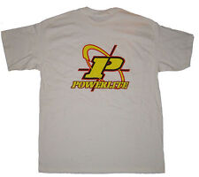 POWERLITE - Traverser cheveux LOGO - BMX T-shirt - XL - Blanc - VINTAGE OLD