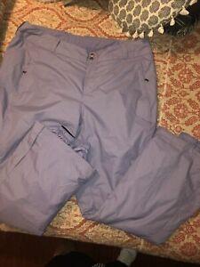 Columbia Women's  ski pants size 2X outdoor athletic