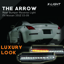 Clear Lens 4 Features LED Turn Signal, Backup, Brake Light For 03-09 Nissan 350Z