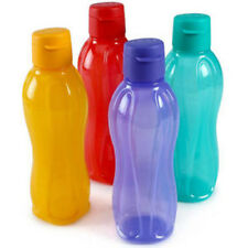 Tupperware Flip Top Water Bottle 750ml - Set of 4