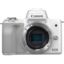 Canon EOS M50 Mirrorless Camera Body - White