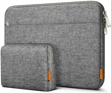 Inateck 15-15.6 Inch Laptop Sleeve Case Bag with Accessory Pouch for Accessory