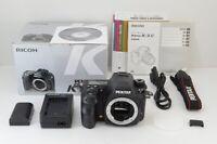 PENTAX K-3 II 24.3MP Digital SLR Camera Black Body Only w/ Box #200918av