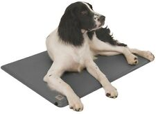 Heated Dog Bed House Pad Medium Pillows Veterinary Care Pet Supplies in Gray