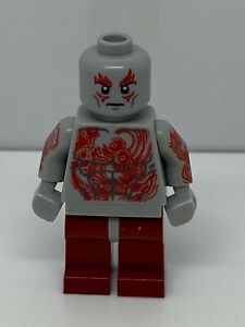 Lego Drax With Solid Legs Super Heroes Minifigure 100% Authentic