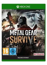 Xbox One Jeu METAL GEAR Survive Incl. Survival Pack DLC article neuf