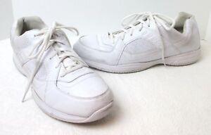 Men's Safe T Step White Slip Resistant Comfort Sole Lace Sneakers Sz 15 M