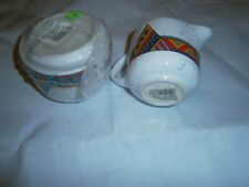 NEU! Wächtersbacher Keramik * Indian Summer *Zuckerdose + Milchgießer **