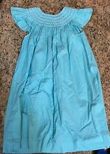 MOM AND ME Girls LIGHT BLUE  DESIGNER Dress Size GREAT CONDITION!!!!!!