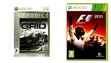 Racedriver Grid & f1 fórmula 1 2011 XBOX 360 PAL