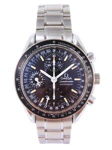 OMEGA Speedmaster Automatic Triple Calendar Watch Mark40 Cosmos 3520.50 w/Box