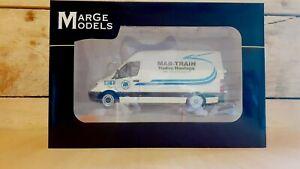 1:32 Scale Mar-Train Heavy Haulage Escort Van, Mercedes Sprinter,Code 3 Model