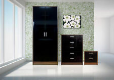 Contemporary Wooden Bedroom Furniture Sets with 3 Pieces