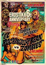Rockin' Jelly Bean EROSTIKA El vs Zombies Offset Print Poster Regular Ver. F/S