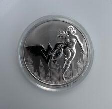 2021 Wonder Woman DC Comics Niue 1oz Solid Silver .999 coin