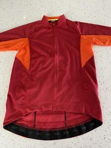 Men's Mavic Short Sleeve Cycling Jersey Size Medium Bike Jersey EUC!