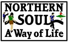 NORTHERN SOUL - SOUVENIR NOVELTY FRIDGE MAGNET / BRAND NEW / DANCE / GIFTS