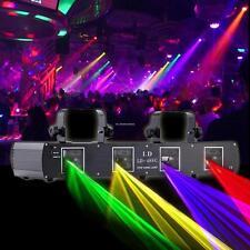 4 Len Laser light DMX 420mw RGPY Licht Bühnenbeleuchtung DMX512 DJ Stage Lamp