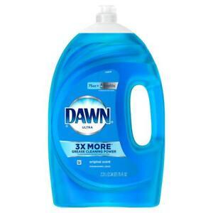 Ultra Original Scent Dish Soap Liquid Form Antibacterial Disinfecting 75 oz.