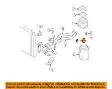 GM OEM Oil Cooler-Coupling 14081300