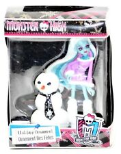2014 Monster High Abbey Bominable Holiday Christmas Ornament NRFB!