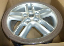 """Land Rover OEM Range Rover P38 & Discovery 2 Silver Sparkle HURRICANE 18"""" Wheel"""