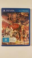 The Legend of Heroes Trails of Cold Steel II PS Vita VGC PAL