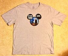Disney World Star Wars Weekend 2012 Men's X-Large Gray T-Shirt