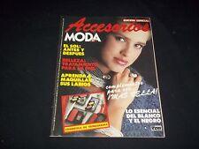 1986 ACCESORIOS MODA DE HOY MAGAZINE - COLUMBIAN FASHION - FRONT COVER - C 4625
