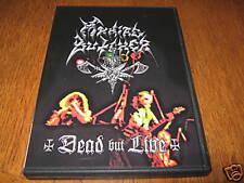 "MANIAC BUTCHER ""Dead But Live"" DVD nargaroth krieg"