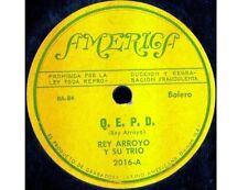 REY ARROYO Y Su TRIO Separacion  / Q.E.P.D. LATIN 78 America Label BOLERO