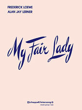 My Fair Lady Complete Vocal Score Piano Sheet Music Lerner & Loewe Musical Book