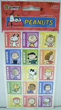 Peanuts Snoopy Sandy Lion Stickers 2 Sheets NEW