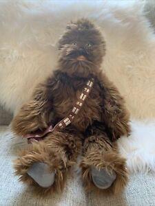 Disney Store Star Wars Chewbacca Soft Cuddly Plush Toy
