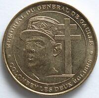 JETON MDP MEMORIAL DU GENERAL DE GAULLE 2000