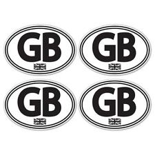 GB Union Jack Laminated Stickers Small 75mm Car Motorbike Scooter Vespa WB