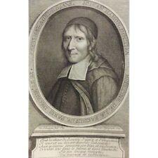 Jean Hamon 1689 par Louis Jean DESPREZ 1743-1804 VAN SCHUPPEN Jansénisme XVIIIe