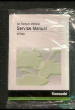 Kawasaki Kfx�]50 Service Manual - Fits 2007 - 2020 - Genuine Kawasaki - New (Fits: Kawasaki)