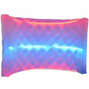 Inflatable Photo Booth Wall Background Frame with 3 LED for Event and Exhibition