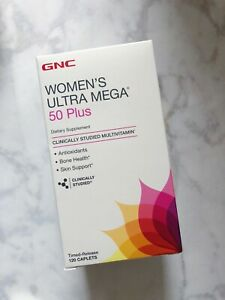 GNC WOMENS ULTRA MEGA 50 Plus - 120caps - Antioxidants Bone Health Skin Support