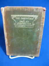 The Essential of English Compositon, James W. Linn
