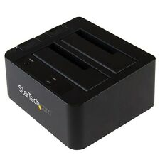 StarTech.com USB 3.1 Gen 2 (10Gbps) Dual-Bay Dock for 2.5 inch and 3.5 inch SATA
