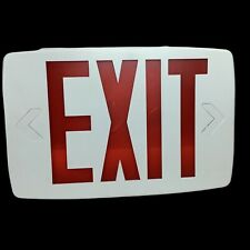 Lithonia Lighting Quantum Thermoplastic Led Emergency Exit Sign A5