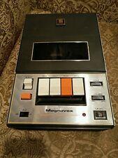 Vintage Magnavox Cassette Tape Recorder- Model 1V9023