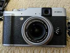 Fuji X20. Silver with extras