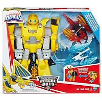 Playskool Heroes -Transformers Rescue Bots Knight Watch Bumblebee
