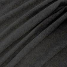 Stoff Meterware Polar Fleece anthrazit meliert knitterfrei dunkelgrau weich warm