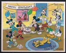 Gambia Stamp - Mickey Mouse turns 60 Stamp - NH
