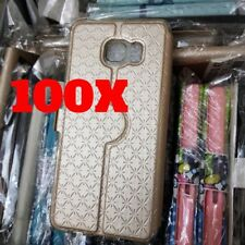 LOTTO 100 COVER IN PELLE APPLE IPHONE SAMSUNG GALAXY CUSTODIE ASSORTIMENTO STOCK