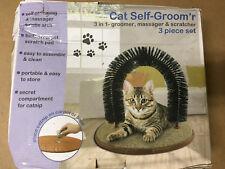 Cat Arch 3 in 1 Self-Groomer - Acts as a Groomer, Massager & Scratcher - SHELF